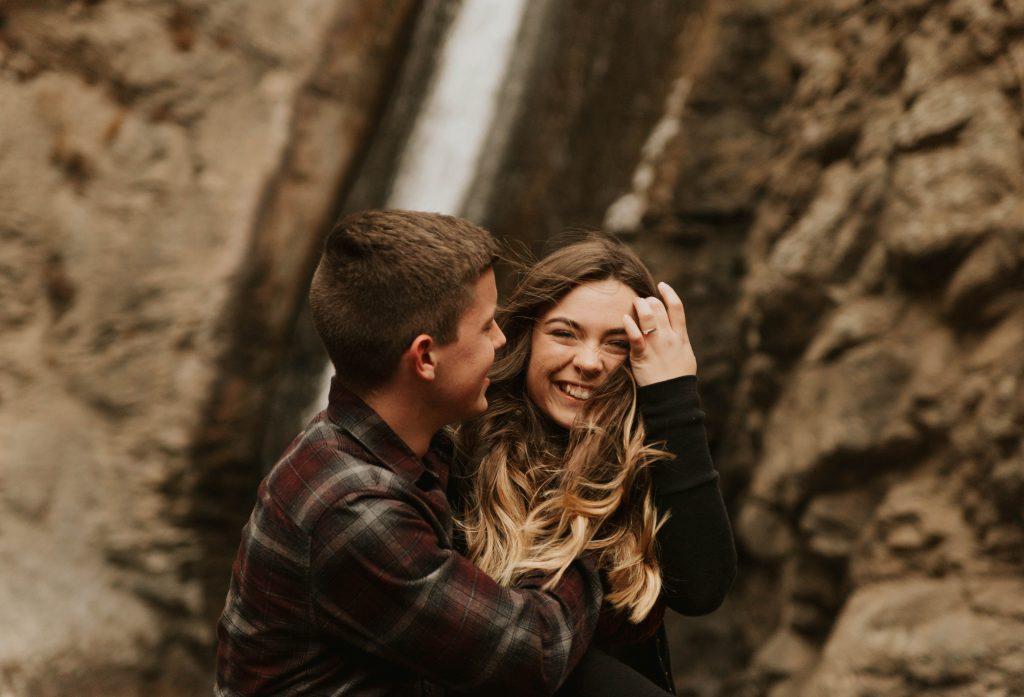 Engagement Photography at Jump Creek Falls