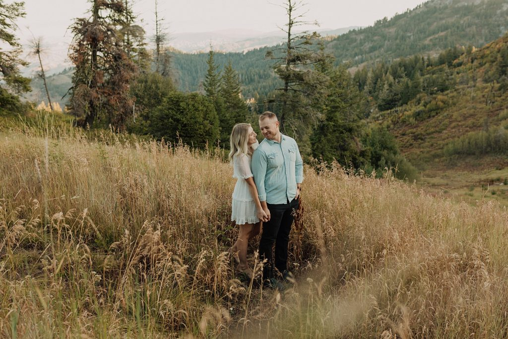 Idaho engagement photographer