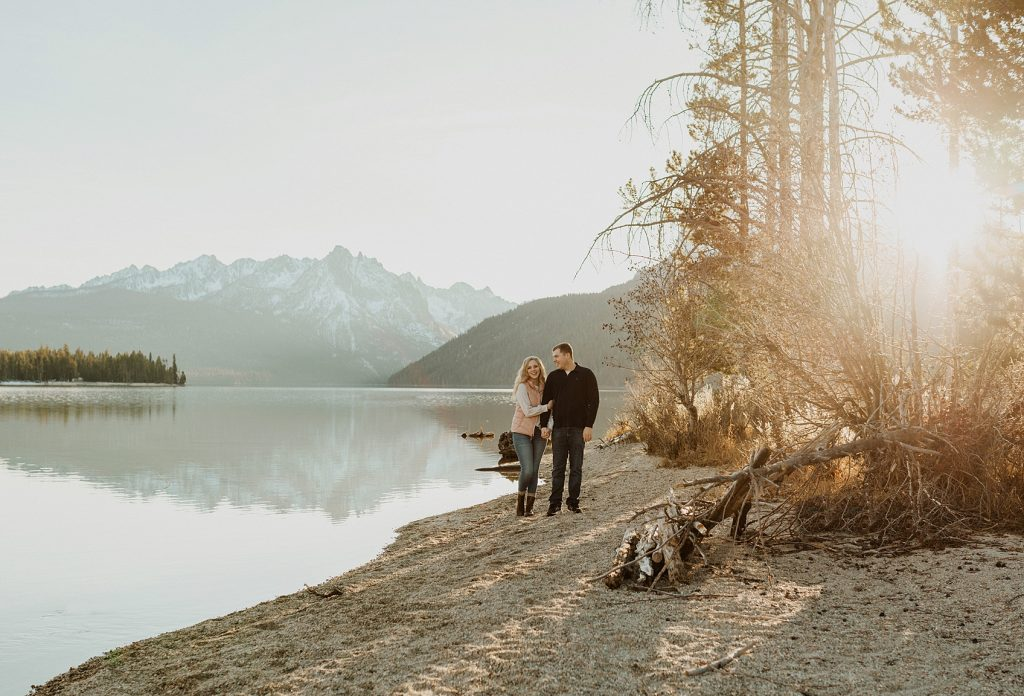 Red Fish Lake Wedding Photographer