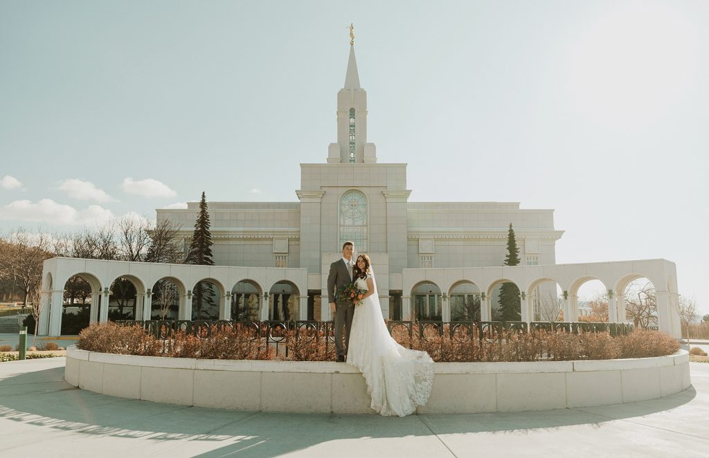 Idaho LDS Wedding Photographer