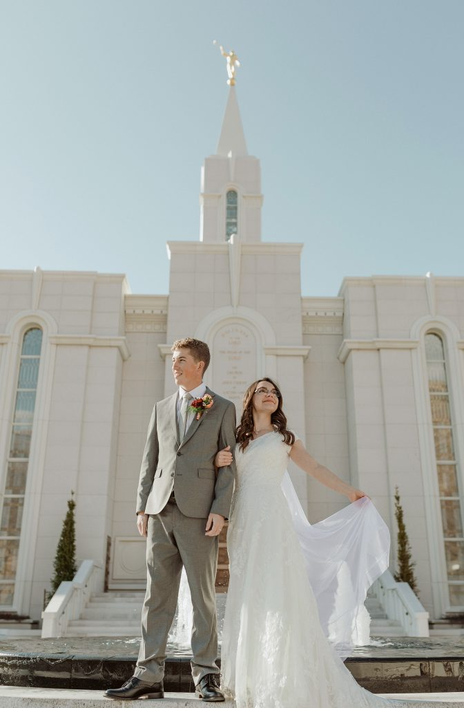 Utah LDS Wedding Photographer