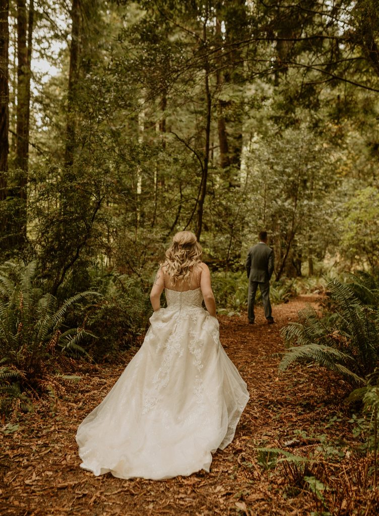 Redwood Forest Elopement Photographer